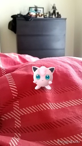 Jigglypuff - the perfect snuggle companion! He can sing you to sleep!
