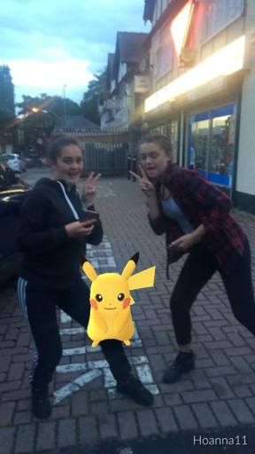 These ladies are turning Pokemon Snaps into an art form!