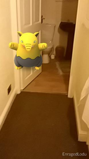Drowzee tries to disguise himself as a door handle this time, well spotted, Lee!