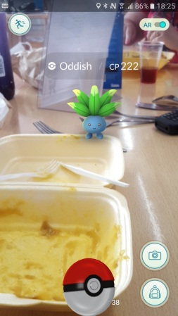 How to attract Oddish? Chips and curry!