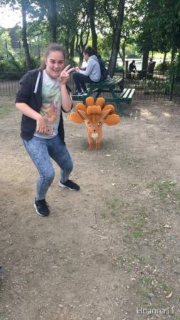 Vulpix looks a little scared!