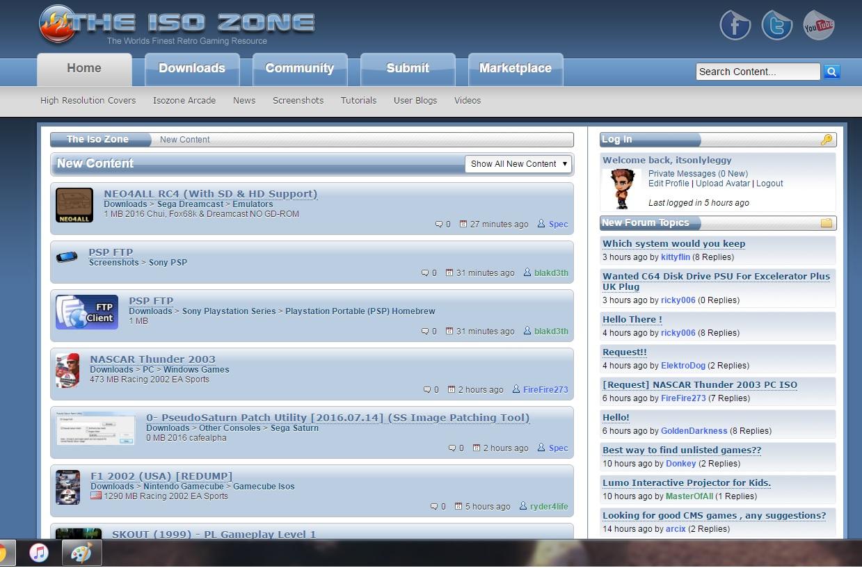 Helpful Website: The ISO Zone – LOAD/ERROR